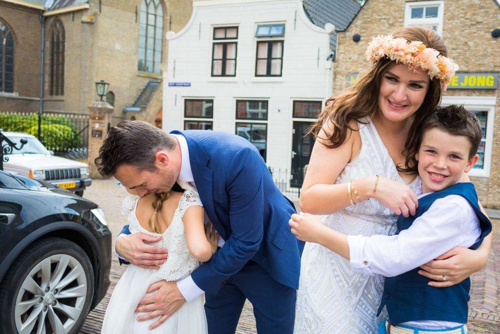 Bruidsfotografie, Landelijke bruiloft, Oud Beijerland